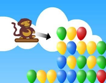balloon shooter monkey